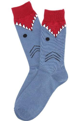 K. Bell Men's American Flag Socks