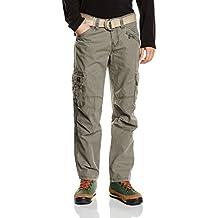 Timezone Herren Relaxed Hose BenitoTZ cargo pants incl. belt