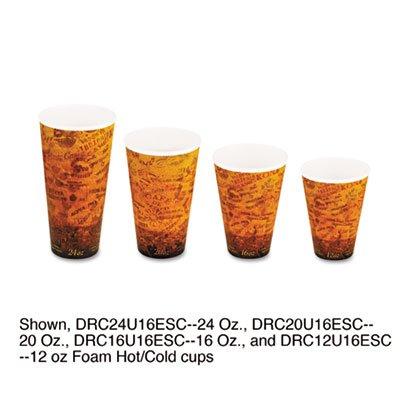 Fusion-cup (Dart 16u16esc Fusion 453,6Gram Escape Design Printed Foam Cup)