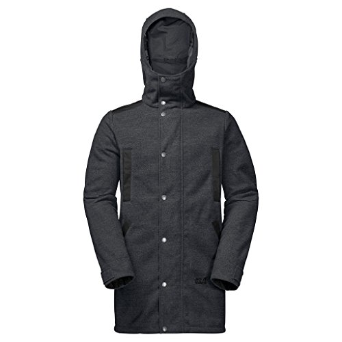 Preisvergleich Produktbild Jack Wolfskin Freizeitjacke Edmonton Coat Herren phantom Large