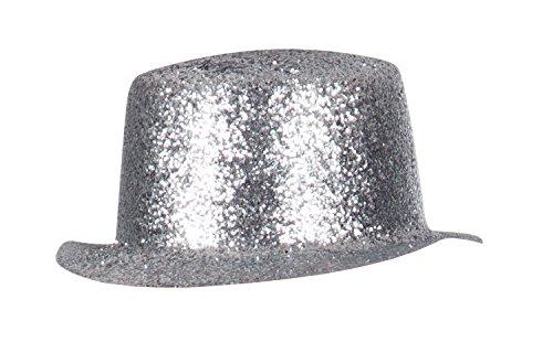 Boland 04171 - Erwachsenenhut Sparkling cutie, Einheitsgröße, silber