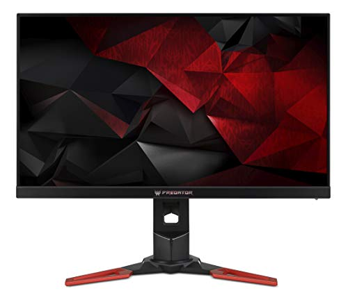 "Acer Predator XB271HAbmiprzx Monitor Gaming da 27"" IPS LCD, Risoluzione Full HD, 400 cd/m2, 1ms, HDMI, DP, USB 3.0, Audio Out, Speaker Integrati Regolazione in Altezza, Pivot, G-Sync, ULMB, Nvidia 3D"