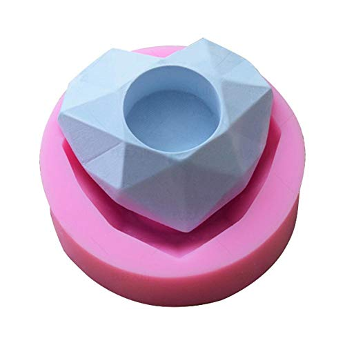 Candle Molds - 2019 Diy Craft Candle Making Diamond Romantic Heart Shape Silica Gel Mold Cake Valentine 39 S Day - Molds Bulk Flowers Floating Honeycomb Aluminum Tapers Leaf Fruit Animal Unicor
