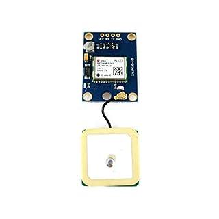 Paradisetronic.com GPS-Modul mit NEO-6M und Keramikantenne für Arduino und Flugregler, UART, u-blox kompatibel