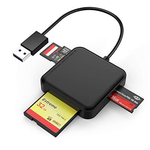KAMETA Lector de Tarjetas de Memoria USB 3.0