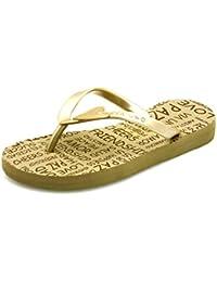 Via Uno Chanclas De Dedo Tira Divisora Dedos Del Pie Plástico Zapato Abierto Zapatos De Playa 20910801 Strand