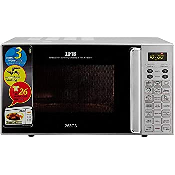 Ifb 25 L Convection Microwave Oven 25sc3 Metallic Silver