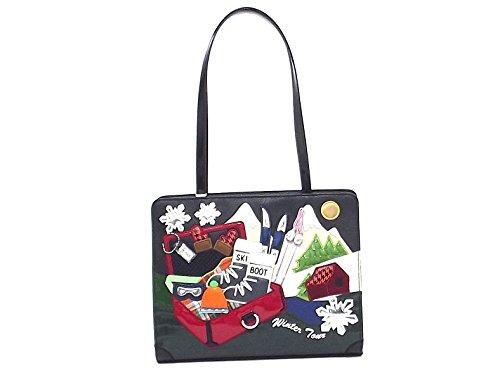 Braccialini borsa donna a spalla,Cartoline 10776, ecopelle multicolore A6102