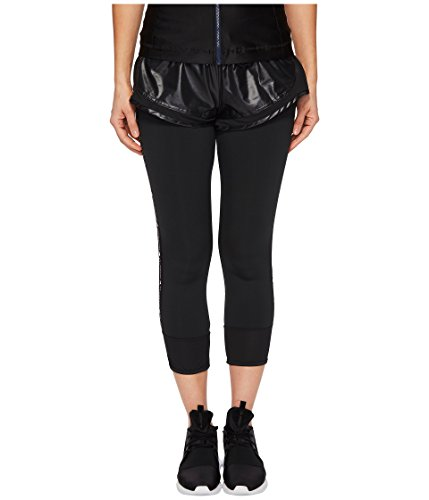 adidas by Stella McCartney Women's Performance Essentials Shorts Leggings, Black, Small