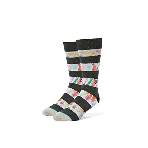 Stance D Wade Feathers Socks Black Multicolored
