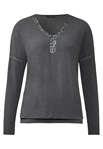STREET ONE Washed-Shirt Inga -Gr.wählbar- pride grey pride grey