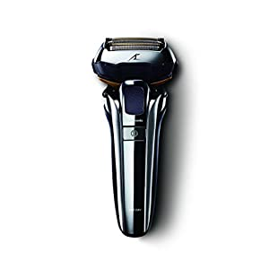 Panasonic ES-LV9Q Wet & Dry Electric 5-Blade Shaver with Cleaning & Charging Stand