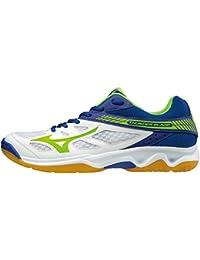 Mizuno Men's Volleyball Shoes white bianco blu verde
