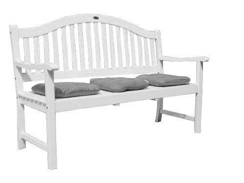 Utah Gartenbank 3-Sitzer mit ausklappbaren Tisch aus Eukalyptusholz FSC …