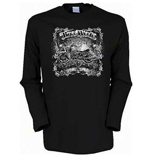 Goodman Shirts Geil Bedruckte Biker & Motorrad Langarmshirt/Bike Week ! -