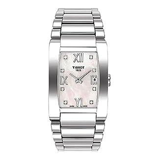Tissot T007.309.11.116.00 – Reloj analógico para Mujer, Correa de Acero Inoxidable Color Plateado