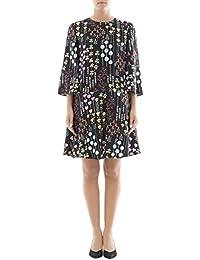Valentino Damen NB0VAAY53KTK92 Multicolour Viskose Kleid