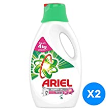 Ariel Automatic Power Gel Laundry Detergent Touch of Freshness Downy 2l Dual Pack @40% off