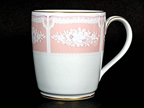 Mug Cup - Noritake Lacewood Gold (Pink) Coffee Mug with