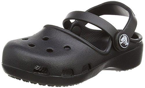 crocs Crocs Karin Clog, Unisex-Kinder Clogs, Schwarz (Black 001), 34/35 EU (J3 Unisex-Kinder UK)