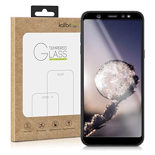 kalibri-Samsung-Galaxy-A6A6-Plus-2018-Folie-3D-Glas-Handy-Schutzfolie-fr-Samsung-Galaxy-A6A6-Plus-2018-Auch-fr-gewlbtes-Display