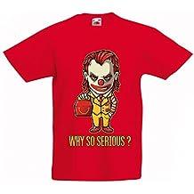 N4443K La camiseta de los niños Why So Serious?