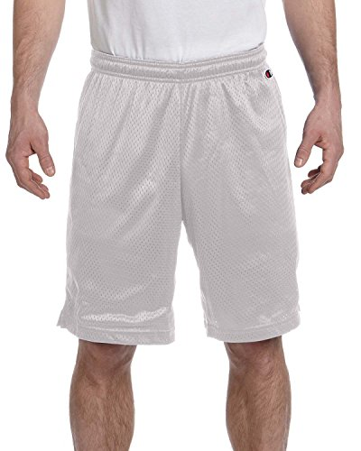 Champion Polyester Mesh Shorts – Athletic dunkelgrün – S 3,7 oz Polyester Mesh Gr. X-Large, Athletic Gray (Shorts Athletic Herren Polyester)