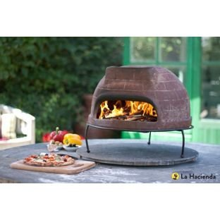 Mexican Clay Pizza Oven.