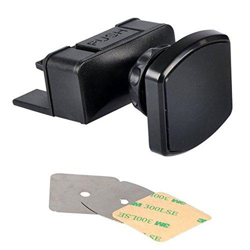 MyArmor magnetica porta CD da Auto, rotazione a 360°, supporto da Auto porta Cradleless per tutti i dispositivi Smartphone e GPS - No Aria Condizionata