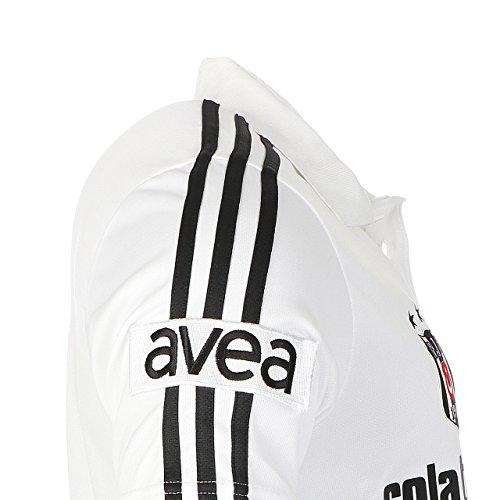 adidas Besiktas BJK P04002 M RCL Trad Po 1 Polo Shirt Fußball Polohemd Climalite Weiß