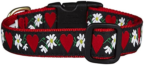 Up Country Hearts And Flowers Collar Narrow, S