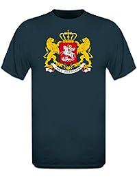 Georgien Wappen T-Shirt by Shirtcity