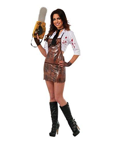 Horror-Shop Original Miss Leatherface Damenkostüm -