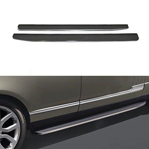 Fixed Side Step Fits for Land Rover Range Rover Velar 2017 2018 Aluminium Running Boards Side Steps Nerf Bar Protector Bar