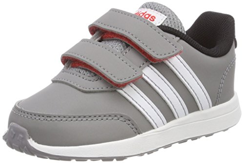 adidas Unisex Baby VS Switch 2.0 CMF Gymnastikschuhe, Grau (Grey Three F17/ftwr White/core Black), 20 EU