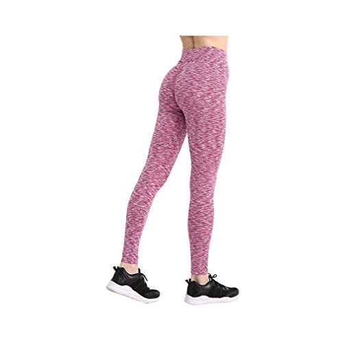 aoliaoyudonggha Fashion Push Up Women Workout High Waist Leggings Polyester V-waist Pencil Pants -