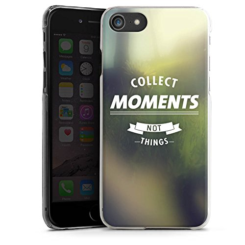 Apple iPhone X Silikon Hülle Case Schutzhülle Moment Sprüche Motivation Hard Case transparent