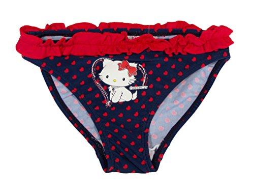 Charmmy Kitty Offizielle Mädchen Schwimmen Bikini ab 2Jahren Gr. 4 Jahre, rot