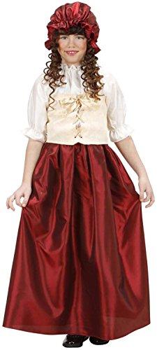 Widmann 12557-Kostüm Bäuerin, in Größe 8/10Jahre
