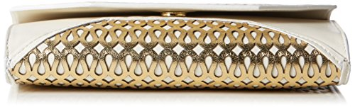 kaviar gauche Envelope Clutch loopnet, Sacs bandoulière Ivoire - Elfenbein (ivory/gold)