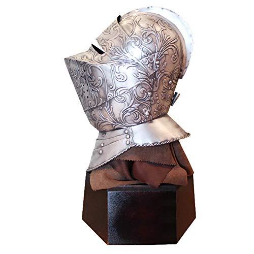 on, mittelalterliche Ritter Roman Gladiator Helme Helm Replica Home Desktop Vintage Dekoration ()