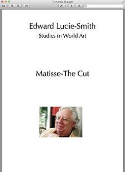 Matisse-The Cut (Studies in World Art Book 47) (English Edition) von [Lucie-Smith, Edward]