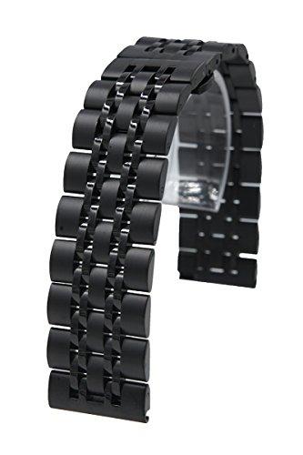 22mm Acero Inoxidable liberación rápida cadena Correa de reloj banda reemplazo pulsera...
