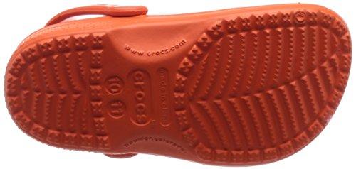 Crocs Classic Kids, Sabots Mixte Enfant Rouge (Tangerine)