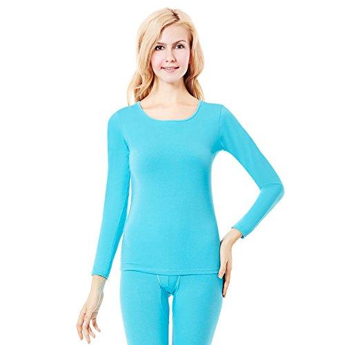 Basierend dünnen Abschnitt paar Modelle warmen Anzug/ Unterwäsche/Männer und Frauen um den Ansatz dünne grundiert Qiuyiqiuku Anzug C