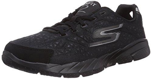 Skechers GO Fit 2Presto - zapatillas de running de material sintético mujer, color negro, talla 36