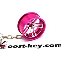 hellaf Lush Wheel Llanta Rosa Anodizado llavero – macizo colgante ...