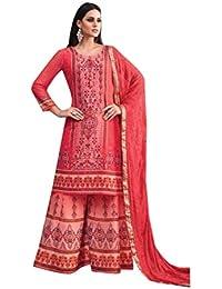 ETHNIC EMPORIUM Bollywood Salwar Traje de Boda Traje Punjabi niña India Musulmana  Mujeres Visten Traje Salwar 86913169e36