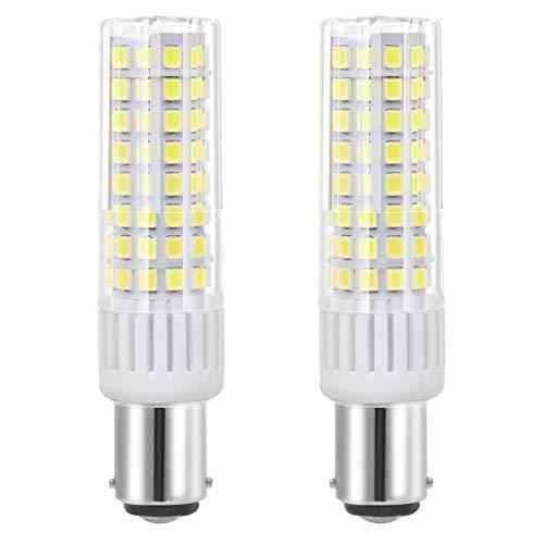 ZOZO Ultima BA15D lampadine LED 7.5 W macchina da cucire a baionetta lampadina ad alta luminosità equivalente a 85 W lampada alogena 90 V-265 V Bianco freddo 6000K
