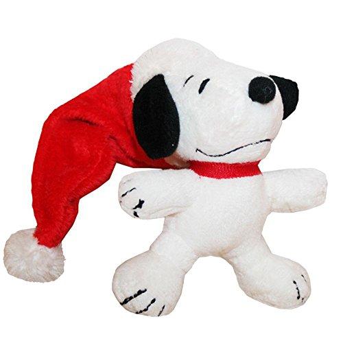 (Nikolaus Mützen Snoopy | Plüschfigur | Die Peanuts | Softwool | 10cm)